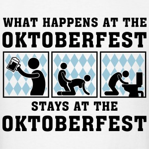 what_happens_at_the_oktoberfest_052016c_ T-Shirts - Men's T-Shirt