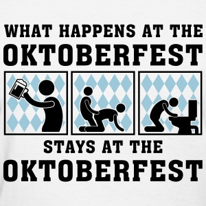 what_happens_at_the_oktoberfest_052016c_ Women's T-Shirts - Women's T-Shirt