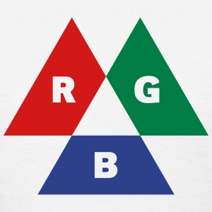 RGB Mode (Red - Green - Blue) Women's T-Shirts - Women's T-Shirt