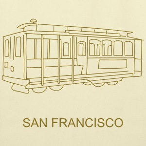 San Francisco Cable Car Bags & backpacks - Eco-Friendly Cotton Tote