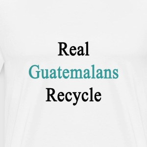 real_guatemalans_recycle T-Shirts - Men's Premium T-Shirt
