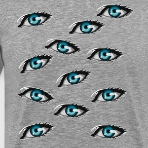 comic eyes - Men's Premium T-Shirt