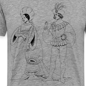 Renaissance of traditional character - Men's Premium T-Shirt