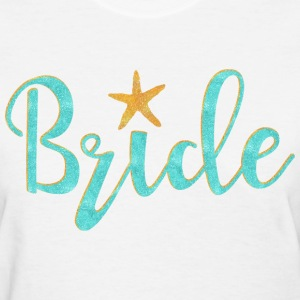 Starfish Bride Women's T-Shirts - Women's T-Shirt