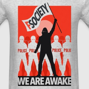 mr robot fsociety riot T-Shirts - Men's T-Shirt