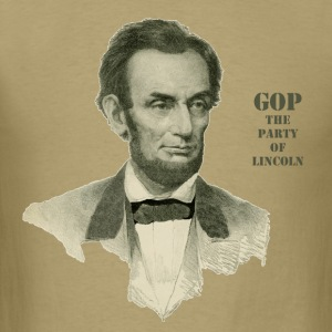 Republican Party of Abraham Lincoln - Men's T-Shirt