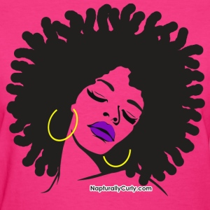 Thick & Beautiful Hair - Women's T-Shirt