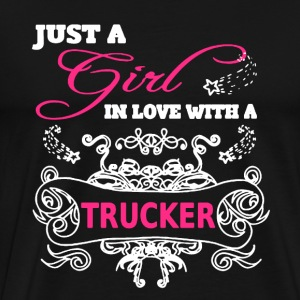 Trucker Girl Shirt - Men's Premium T-Shirt