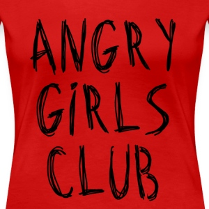 ANGER - Women's Premium T-Shirt