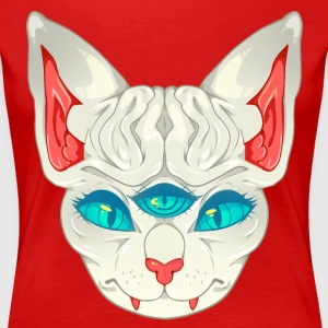 All Seeing Sphynx: C - Women's Premium T-Shirt
