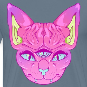 All Seeing Sphynx: A - Men's Premium T-Shirt