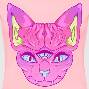 All Seeing Sphynx: A - Women's Premium T-Shirt