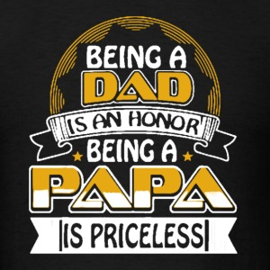 Dad-Papa Shirt - Men's T-Shirt