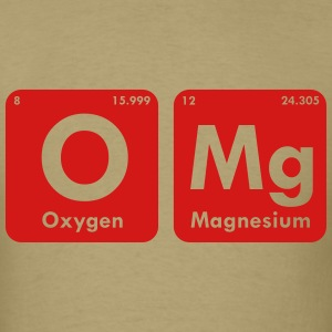 OMG PERIODIC TABLE MEN T-SHIRT - Men's T-Shirt
