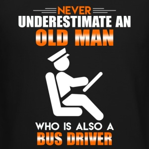 Old Man Bus Driver - Crewneck Sweatshirt