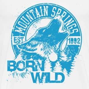 Born Wild - Men's Premium T-Shirt