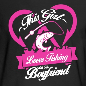 Fishing With Boyfriend - Men's Long Sleeve T-Shirt