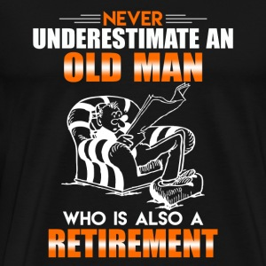 Old Man Retirement - Men's Premium T-Shirt
