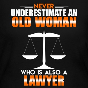 Old Woman Lawyer - Women's Long Sleeve Jersey T-Shirt