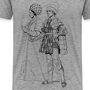 Renaissance of traditional character T-Shirts - Men's Premium T-Shirt