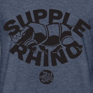 Supple Rhino - Fitted Cotton/Poly T-Shirt by Next  - Fitted Cotton/Poly T-Shirt by Next Level
