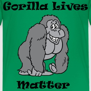 Gorilla Lives Matter Baby & Toddler Shirts - Toddler Premium T-Shirt