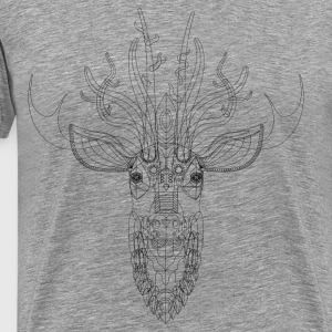 Raw Deer T-Shirts - Men's Premium T-Shirt