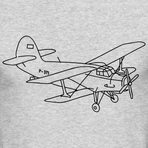 Biplane Long Sleeve Shirts - Men's Long Sleeve T-Shirt by Next Level