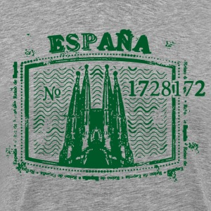 Espana stamp design T-Shirts - Men's Premium T-Shirt