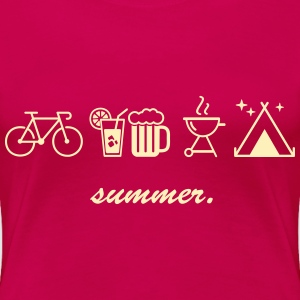 summer. - Women's Premium T-Shirt