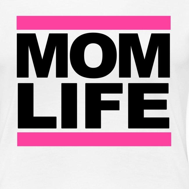 Mom Life Tee (White)