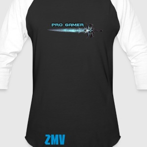 pro gamer sword t-shirt - Baseball T-Shirt