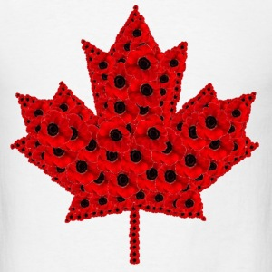 Poppy Leaf.png T-Shirts - Men's T-Shirt