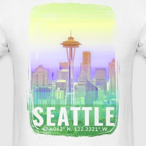 City of Seattle T-Shirts - Men's T-Shirt
