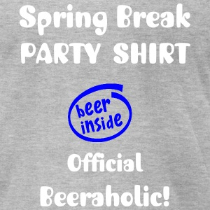 SPRING BREAK PARTY SHIRT - Men's T-Shirt by American Apparel