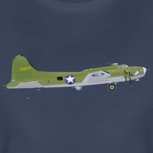 B-17 Bomber Airplane - Women's Premium T-Shirt