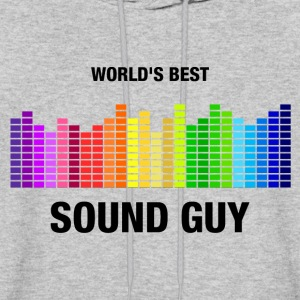 World's Best Sound Guy Hoodies - Men's Hoodie