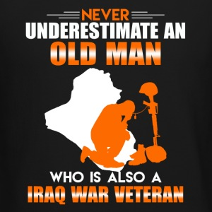 Old Man Iraq War Veteran - Crewneck Sweatshirt