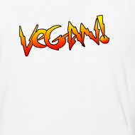 Design ~ Vegan Hot Rod - Unisex Baseball T-shirt