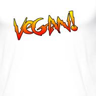 Design ~ Vegan Hot Rod - Unisex Baseball T-shirt