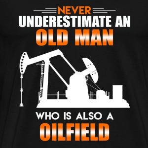 Old Man Oilfield - Men's Premium T-Shirt