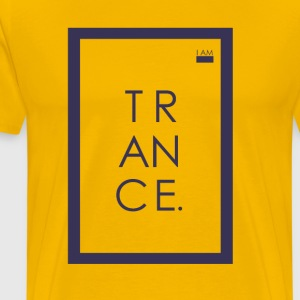 I AM - TRANCE - Male - Men's Premium T-Shirt
