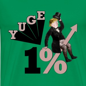 one per cent trump - Men's Premium T-Shirt