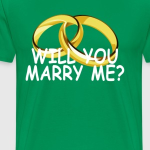 will_you_marry_me_ - Men's Premium T-Shirt