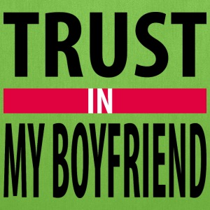 I trust in my boyfriend Bags & backpacks - Tote Bag
