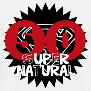 50 Super Natural - Men's Premium T-Shirt
