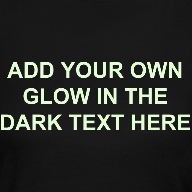 53e022a5 Make Your Own Custom Glow in the Dark T-Shirts! | Make Your Own Glow ...