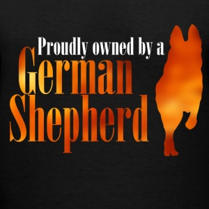 Proudly Owned by GSD - Women's V-Neck T-Shirt