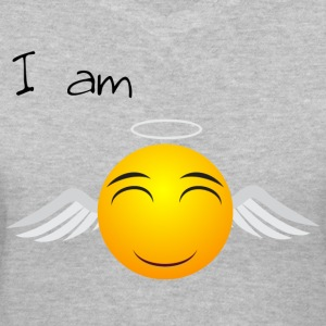 I am.......design wmen's shirt - Women's V-Neck T-Shirt
