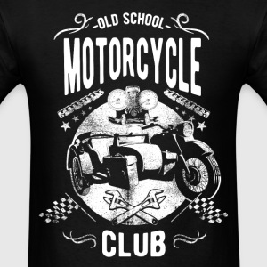 Old School Motorcycle Club T-Shirts - Men's T-Shirt